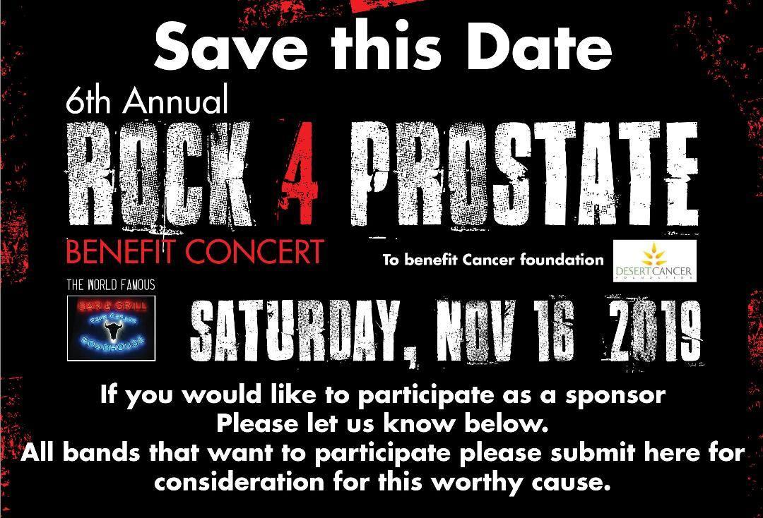 A concert poster